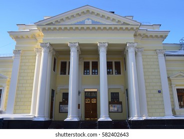 Moscow choral Synagogue in Big Spasoglinischevsky pereulok, the house 10. Russia