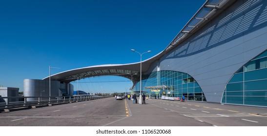MOSCOW - CIRCA MAY, 2018: Sheremetyevo International Airport.
