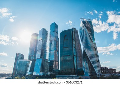 Moscow city (Moscow International Business Center) , Russia