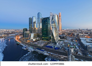Moscow Skyline High Res Stock Images Shutterstock