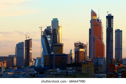 "Moscow cityscape - ""Moscow City"""