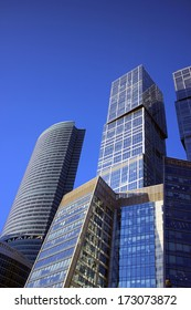 """MOSCOW - DECEMBER 16: Buildings of Business Center """"Moscow City"""" on December 16, 2012 in Moscow"""