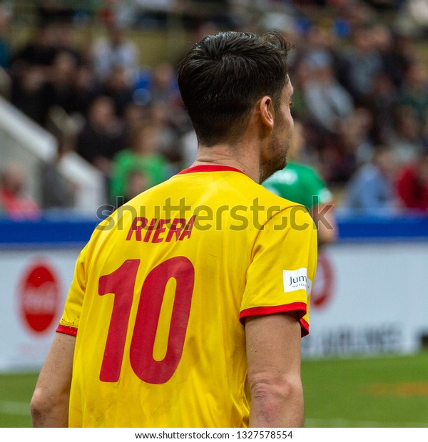 Moscow February 23 2019 Albert Riera Stock Photo Edit Now