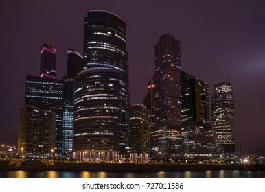 """The Moscow International Business Centre (MIBC), also known as """"Moscow City"""",  is a commercial district in central Moscow, Russia"""