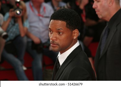 MOSCOW - JUNE 19: Will Smith  during the opening ceremony at the International Moscow Film Festival on June 19, 2008 in Moscow, Russia.