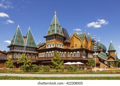 Moscow. Kolomenskoye. The Palace of Tsar Alexei Mikhailovich, Russia