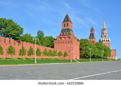 Moscow. The Kremlin