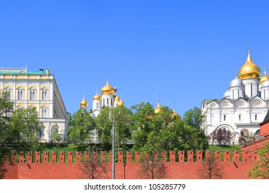 Moscow Kremlin complex. Moscow. Russia