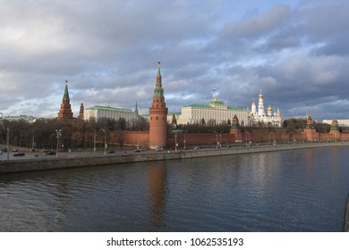 Moscow Kremlin. Presidential residence in the capital of the Russian Federation.
