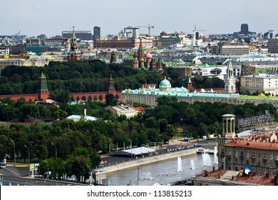 Moscow Kremlin, Moscow skyline