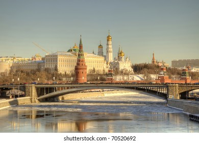 Moscow, Kremlin, the tone correction
