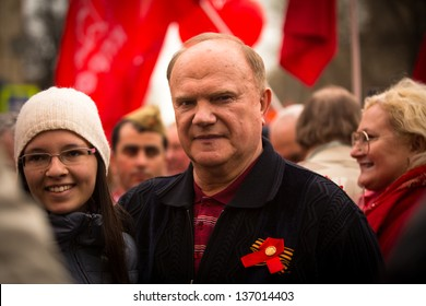 Gennady Zyuganov With Putin
