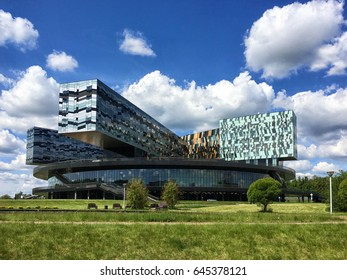 MOSCOW- MAY, 2016: The Moscow School of Management SKOLKOVO is one of the leading private business schools in Russia and the CIS. It was founded in 2006 by members of the business community.