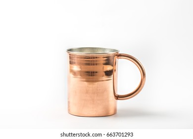 Moscow Mule on White Background