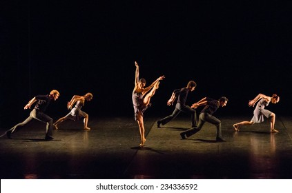 "MOSCOW - NOVEMBER, 26:  Festival of  Contemporary choreography ""Context. Diana Vishneva"" at The Theatre of Mossovet. November 26, 2014 in Moscow, Russia"