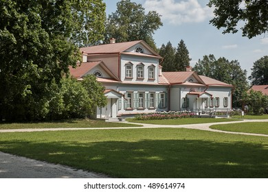 Moscow region. Abramtsevo. Manor house. Left view