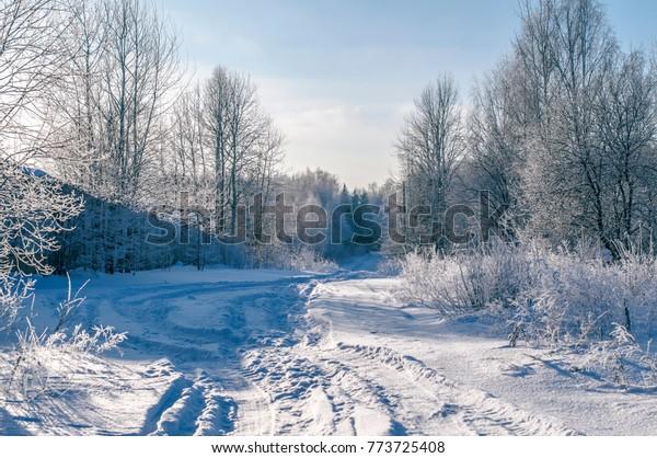 Foto De Stock Sobre Moscow Region Winter Landscape