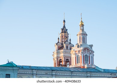 Moscow rooftop
