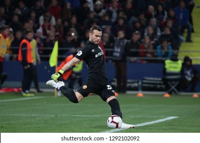 Moscow, Russia, 23 september 2018. VEB Arena. Goalkeeper Igor Akinfeev during the football match of Russian Premier League between CSKA Moscow and Spartak Moscow