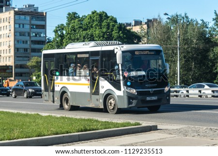New blue buses and minibuses in Moscow. What additional routes will these buses have in Moscow