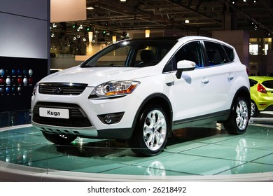 MOSCOW, RUSSIA - 28 AUGUST, 2008: Ford Kuga at Moscow International exhibition Motorshow 2008, Moscow, Russia, 28 august 2008