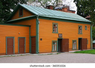 MOSCOW, Russia, August 18, 2012 : Leo Tolstoy's house in city center. He was a Russian writer who is regarded as one of the greatest authors of all time