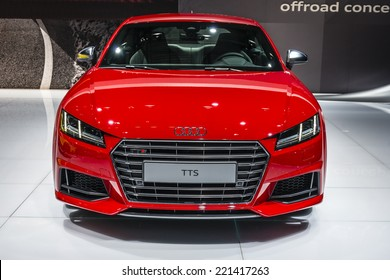 MOSCOW, RUSSIA - August 26: Audi cars at MIAS 2014 in Moscow, 26 August 2014