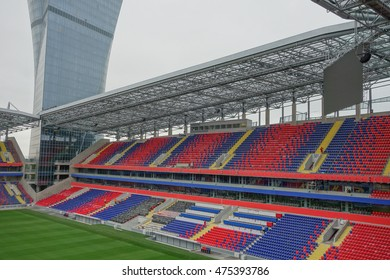 MOSCOW, RUSSIA - CIRCA AUGUST 2016: CSKA Stadium