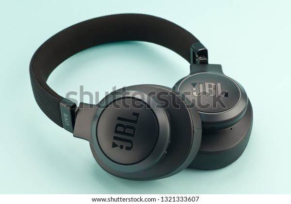 Moscow Russia February 20 2019 Headphones Stock Photo (Edit Now