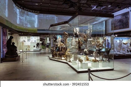 Moscow, Russia - February 24, 2016: State Darwin Museum
