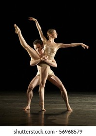 """MOSCOW, RUSSIA - JULY 1: First night of """"Six dances"""" ballet in MAMT theatre. July 2010 in Moscow, Russia."""