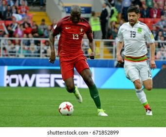 9afbe6344 Portuguese midfielder Danilo against Mexican striker Oribe