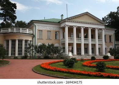 MOSCOW, RUSSIA - JULY 9, 2012: Gorki Estate where Soviet leader Vladimir Lenin dead in 1924 near Moscow, Russia.