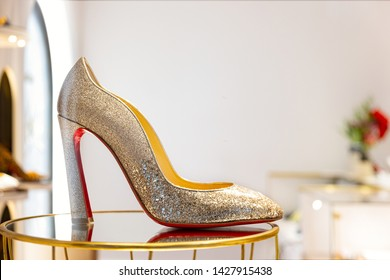 reputable site 16eba d4a5f Louboutin Shoes Images, Stock Photos & Vectors | Shutterstock