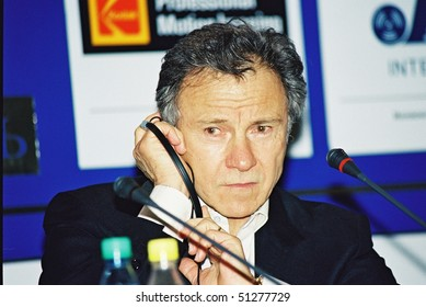 MOSCOW, RUSSIA - JUNE 29: Harvey Keitel  attends the press conference at  the 24th annual Moscow International Film Festival June 29, 2002 in Moscow, Russia.