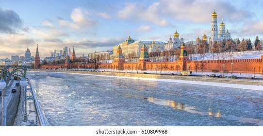 Moscow, Russia. Kremlin-residence of the President of the Russian Federation.