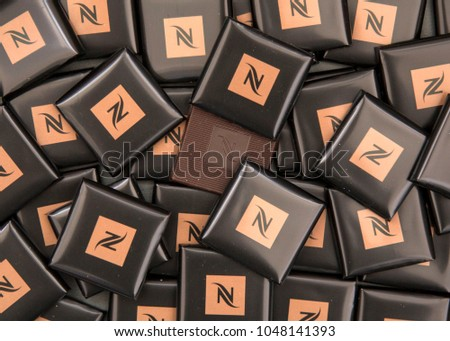 Moscow Russia March 17 2018 Nespresso Stock Photo Edit Now