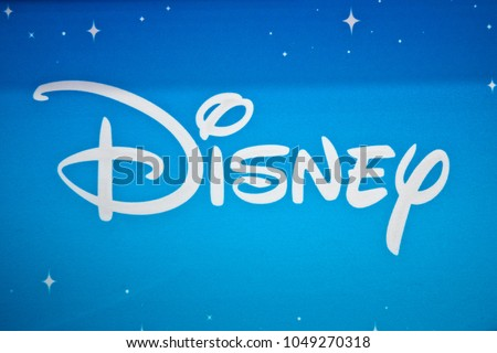 Moscow Russia March 2018 Disney Logo Stock Photo Edit Now