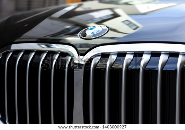 Moscow Russia May 2019 Bmw Logo Stock Photo Edit Now 1403000927