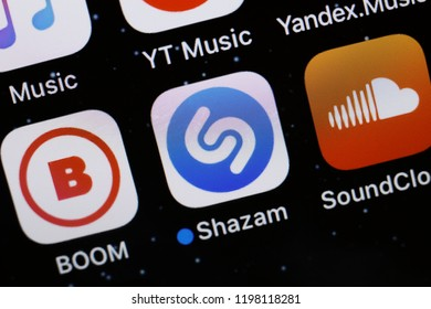 Shazam Logo Images, Stock Photos & Vectors | Shutterstock