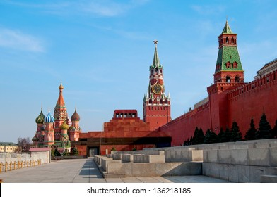 Moscow, Russia, Red Square.