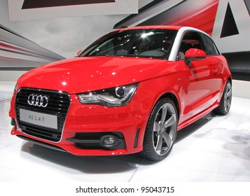 MOSCOW, RUSSIA - SEPTEMBER 1: Audi A1 is presented at the Moscow International Autosalon on September 1, 2010 in Moscow, Russia.