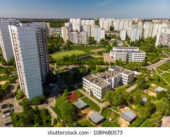 Moscow, Russia - View of city from above