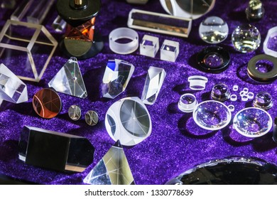 Moscow, Russia-March 4, 2019: PHOTONICS exhibition. WORLD OF LASERS AND OPTICS 2019. Exhibits at the exhibition