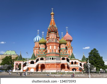 Moscow. St. Basil's Cathedral