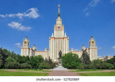 Moscow state University on Sparrow hills