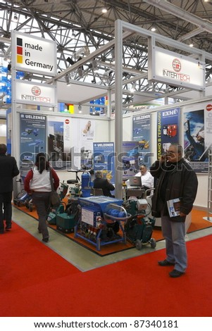 Exhibition Booth German : Ifat exhibition u germany u water and wastewater treatment