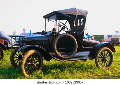MOSCOW/RUSSIA, CIRCA JULY 2009; Autoexotica 2009 fest. Ford Runabout from 1910s.