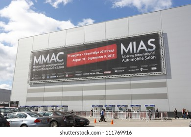 MOSCOW-SEPTEMBER 1: In Moscow International Motor Show on September 1,2012 in Moscow