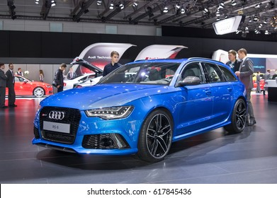 Moscow-September 2: Audi RS6  at the Moscow International Automobile Salon on September 2, 2014 in Moscow